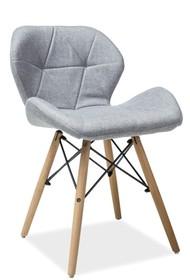 KRZESŁO MATIAS II BUK/SZARY Matias to bardzo nowoczesne i stylowe krzesło, które przypadnie do gustu nawet najbardziej wymagającym klientom. Dzięki...