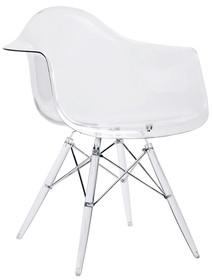Fotel DSP ICE - transparentny