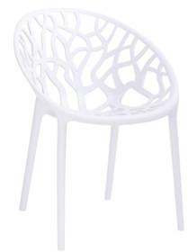 Krzesło KORAL - biały