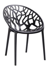 Krzesło KORAL - czarny