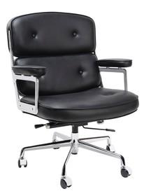 Fotel biurowy ICON PRESTIGE PLUS - czarny