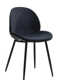 Krzesło BEETLE - ciemny szary