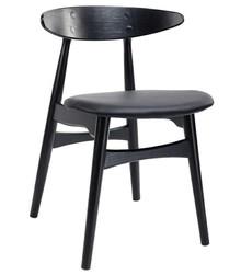 Krzesło RETRO - czarny
