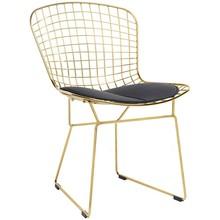 Krzesło NET SOFT GOLD - złoty/czarny