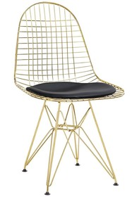 Krzesło DSR NET GOLD - czarny