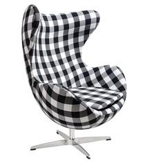 Fotel EGG CLASSIC tkanina - kratka