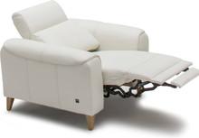 Fotel z funkcją relaksu manualnego Milana - Etap Sofa