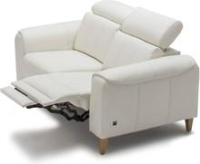 Sofa 2-osobowa z funkcją relaksu manualnego Milana - Etap Sofa