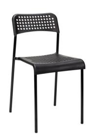 Krzesło DAVIS - czarne