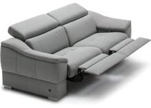 Sofa 2-osobowa z funkcją relaksu manualnego Urbano (1 recliner) - Etap Sofa