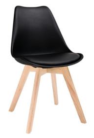 Krzesło NORDIC - czarny