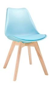 Krzesło NORDIC - niebieski