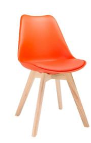 Krzesło NORDIC - pomarańczowy