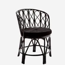 Krzesło bambusowe (19676BL)