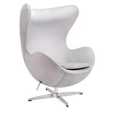 Fotel EGG CLASSIC VELVET - jasny szary