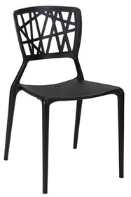 Krzesło VIND - czarny
