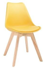 Krzesło NORDIC - żółty
