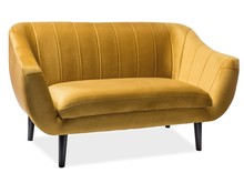 SOFA ELITE 2 VELVET CURRY BLUVEL 68 / WENGE (T)