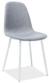 Krzesło FOX - biały/szary