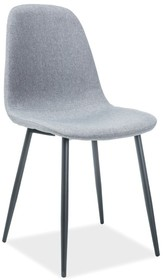 Krzesło FOX - czarny/szary