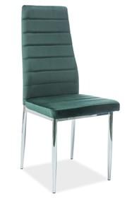 Krzesło H-261 VELVET - zielony Bluvel 78