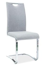 Krzesło H-790 tkanina - szary