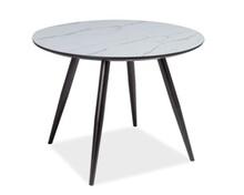 Stół IDEAL 100 - marmur/czarny