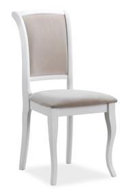 Krzesło MN-SC - biały/beżowy