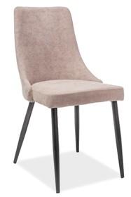 Krzesło NOBEL - czarny/beżowy