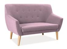 Sofa NORDIC 2 - różowy Cablo 12