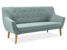 Sofa NORDIC 3 - miętowy Cablo 10