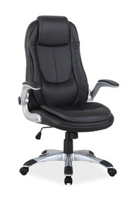 Fotel obrotowy Q-081 - czarny
