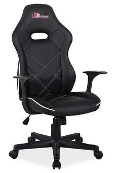 Fotel obrotowy RAPID - czarny/szary