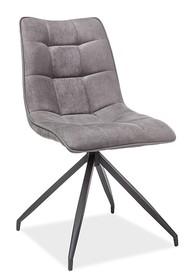 Krzesło OLAF tkanina - szary