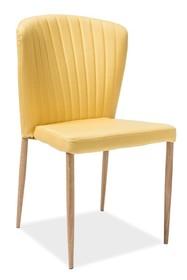 Krzesło POLLY - żółty