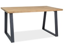 Stół RONALDO 150x90 - okleina naturalna