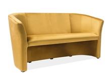 Sofa TM-3 Velvet - curry Bluvel 68
