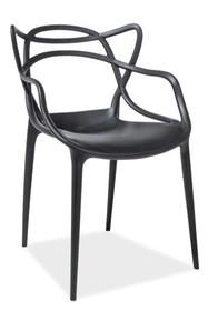 Krzesło TOBY - czarny