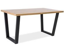 Stół VALENTINO 120x80 - lity dąb