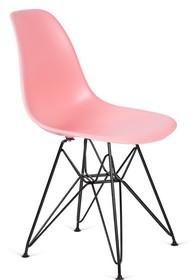Krzesło DSR BLACK - jasna brzoskwinia