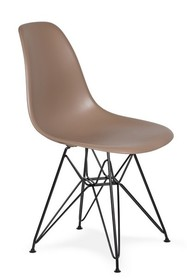 Krzesło DSR BLACK - kawa mocca