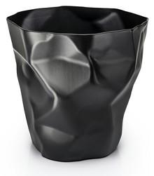 Kosz na śmieci PLAST - czarny