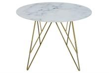 ACTONA stolik kawowy PRUNUS marmur - szkło, metal