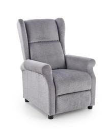 Fotel wypoczynkowy AGUSTIN - popiel