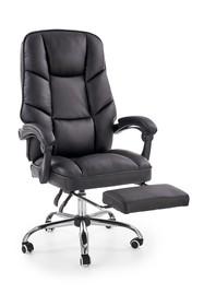 Fotel gabinetowy ALVIN - czarny