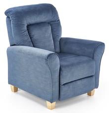 Fotel wypoczynkowy BARD - ciemny niebieski