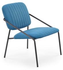 Fotel DENNIS - niebieski