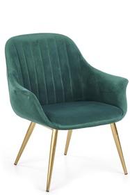Fotel ELEGANCE 2 - ciemny zielony