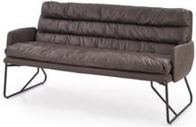 FASSI XL sofa, stelaż - czarny, tapicerka - ciemny popiel (2p=1szt)