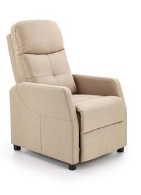 Fotel wypoczynkowy FELIPE - beżowy